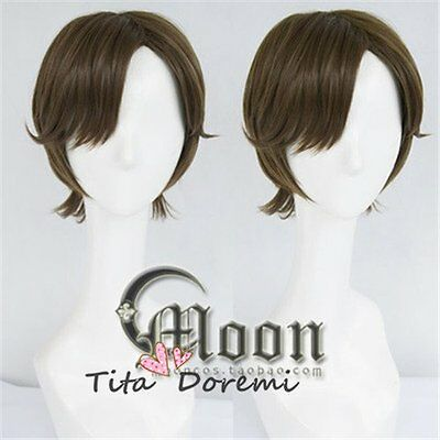 Halloween Wig Cosplay Sound! Euphonium brown party fashion Short Hair](Halloween Sounds Short)
