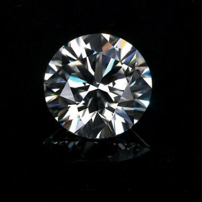 9mm G Color Brilliant White Diamond 2.45cts Round Shape Loose VVS1 Clarity *