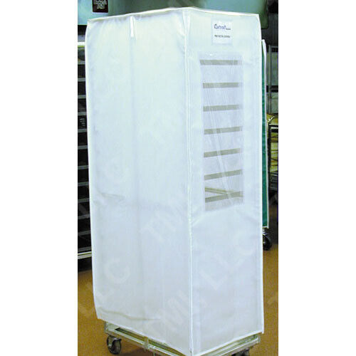 "Bun-Pan-Rack Cover, Translucent White, 23"" x 28"" x 62"""