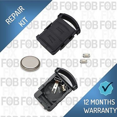 Vauxhall / Opel Corsa Agila Meriva Remote Key Fob Button Case Repair Kit