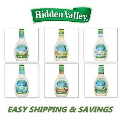 - Hidden Valley Ranch Dressing Exotic Flavors Avocado Cucumber PICK ONE FLAVOR