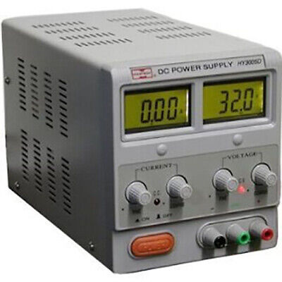 Variable Dc Lab Power Supply With Lcd Display 0-30v 0-5 Amp