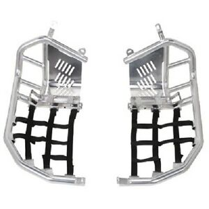 Tusk Foot Peg Nerf Bars Aluminum Heel Guards TRX 400EX 1999-2007 trx400 400 ex