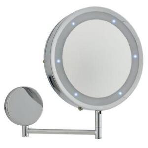 Round Illuminated Bathroom Mirrors
