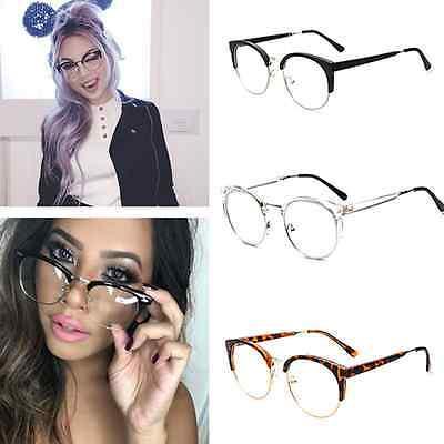2016 Trend Mens Womens Clubmaster Style Eye Glasses Frames Hipster (Frames Styles 2016)