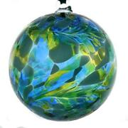 Hand Blown Green Glass