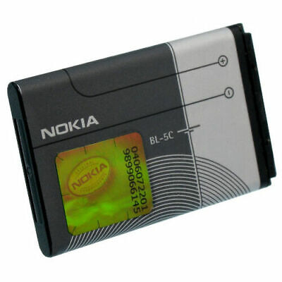 NEW OEM Nokia BL-5C Battery For Nokia 2118 6086 6108 6205 65