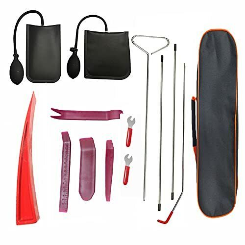 Professional Automotive Car Tool Kit, Easy Entry Long Reach Grabber with Air