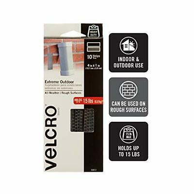 "VELCRO Brand Tape Industrial Strength Sticky Back Black 1"" x"