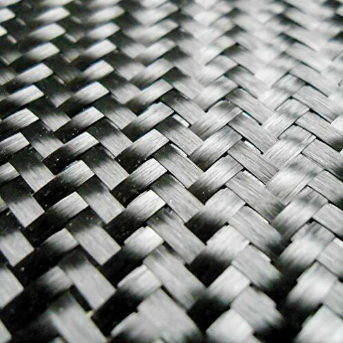 """Carbon Fiber Fabric 3K 5.7oz. x 50"""" 2x2 Twill Weave (284)- 10 Yard roll"""