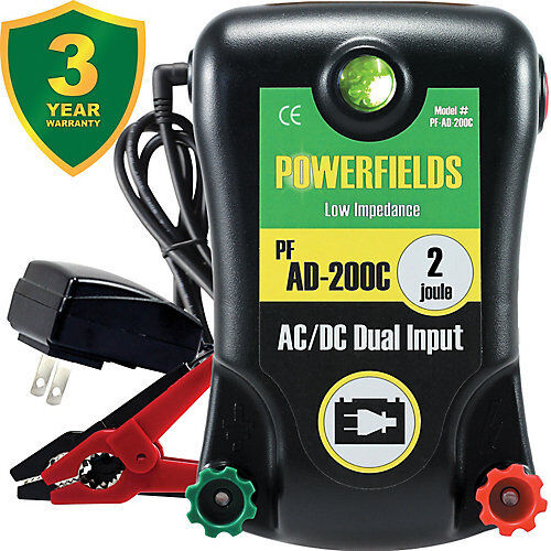 Powerfields AC/DC 120 Acre Energizer 2.0 Joules