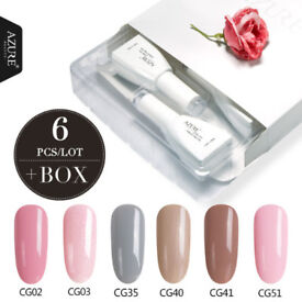 Azure Nude Collection Box Set 12ml Nail Gels * NEW *