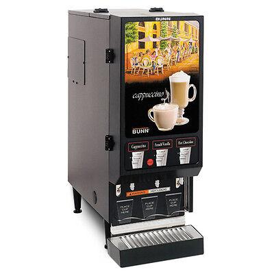 Bunn 29250.0000 Hot Beverage Dispenser with 3 Hoppers Bunn Stainless Steel Beverage Dispenser