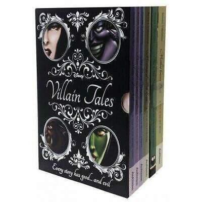 Disney Villain Tales Collection 6 Books Set By Serena Valentino (Children Books)