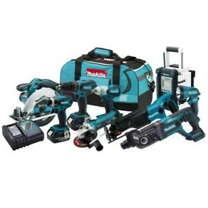 Makita - LXT902 - Lxt 9 Pc Combo Kit