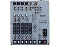 Yamaha 8 channel mixer MW8CX