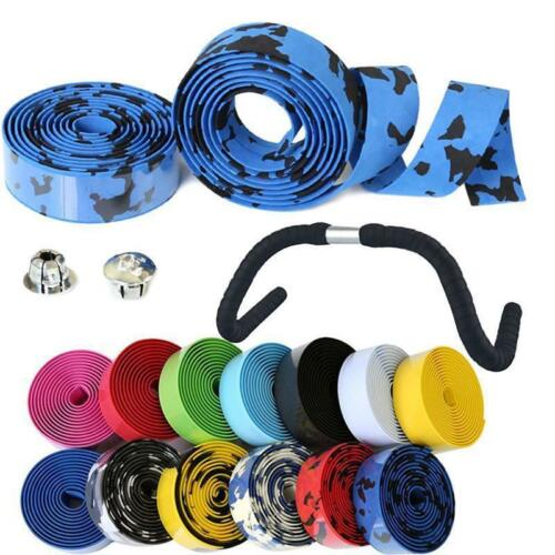 Handlebar Tape Bicycle Road Bike Cycling Sport MTB Cork Grip Wrap Ribbon Tape Bicycle Components & Parts