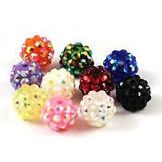 Mixed Shamballa Beads