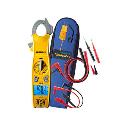 Fieldpiece SC640 Loaded Clamp Meter with Dual Display, True