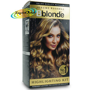 Hair highlighting kit ebay jerome russell bblonde permanent hair highlighting kit no1 solutioingenieria Choice Image