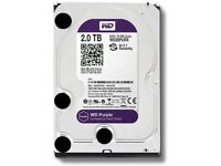2TB WD Purple Storage/CCTV Hard Drive