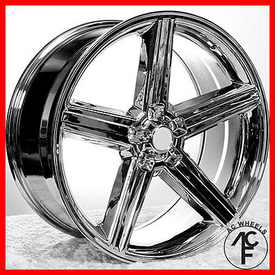 """20"""" IROC To what place CHROME 5-120 OR 5-127  ET+10 fit el camino Caprice sale"""