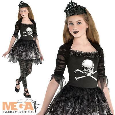 Prima Zomberina Girls Fancy Dress Gothic Zombie Ballerina - Prima Ballerina Kostüm