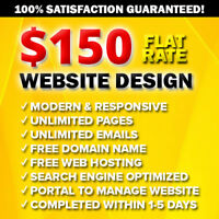 ✪ AFFORDABLE STUDENT WEB DESIGNER ✪ $150 PROFESSIONAL WEBSITE