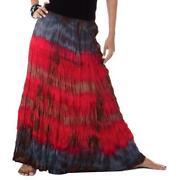 Plus Size Hippie Skirt