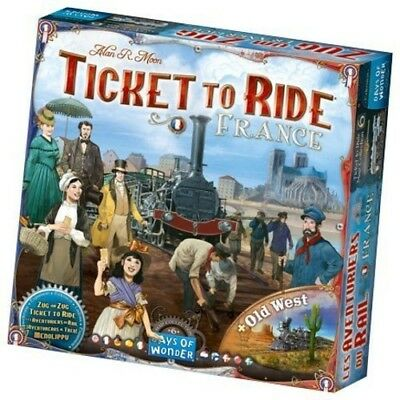 Ticket to Ride: France/Old West [New Games] Board Game