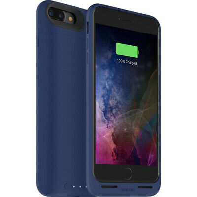 Used, mophie Juice Pack Air 2420mAh Battery Case iPhone 8 Plus & iPhone 7 Plus - Blue for sale  Shipping to India