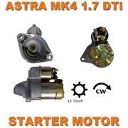Vauxhall Astra 1.7 Cdti Starter Motor
