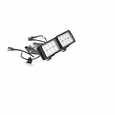 Led Skid Steer Headlight Kit - Flood Compatible With Bobcat 763 773 753 863 873
