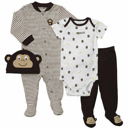 Carter's 4-Piece Layette Set