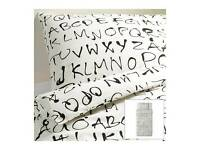 Ikea Alphabet Duvet Set Single