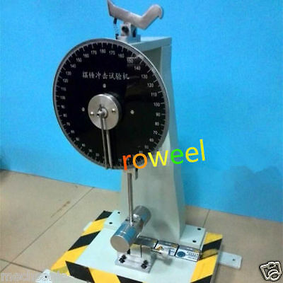 New Analog Pendulum Impact Tester Impacting Testing Machine B25 S