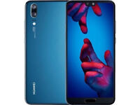 Huawei P20 Midnight Blue 128gb Android Flagship phone Boxed New OREO 8 SIM UNLOCKED