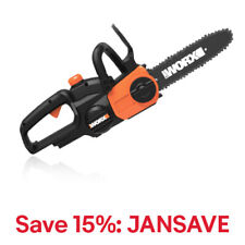 WORX WG322 20V PowerShare 10 Cordless Chainsaw with Auto-Tension