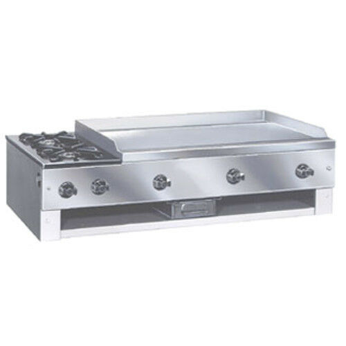 "Comstock Castle 10201 30"" Countertop Gas Griddle/hotplate- 48,000 Btu"