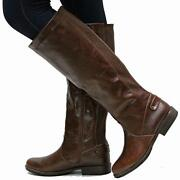 Womens Brown Boots Size 10