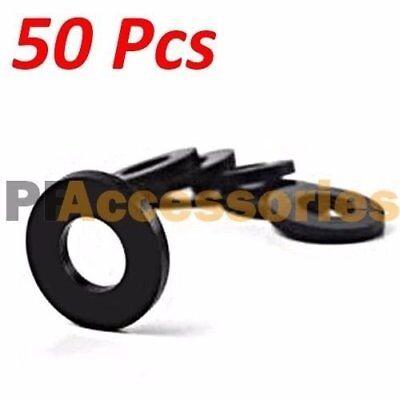 50 Pcs 34 Inch Od O-ring Hose Gasket Flat Rubber Washer Lot For Faucet Grommet