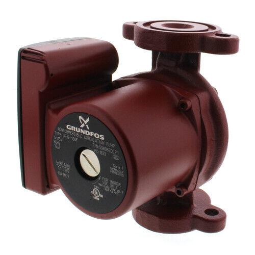 Grundfos UP15-100F, 59896300, 1/25 HP 115V Circulating Pump - Cast Iron Body