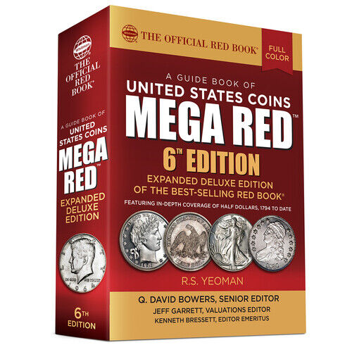 2021 MEGA Red Book Of US Coins Soft Cover Redbook IN STOCK 6th Edition