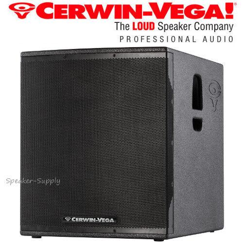 """Cerwin Vega CVX-21S 21"""" 2000 Watt Powered Subwoofer Speaker"""