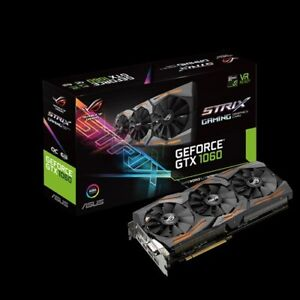 ASUS GTX 1060 (6 GB DDR5), REPUBLIC OF GAMER À $ 325 WOW !!!!!!!