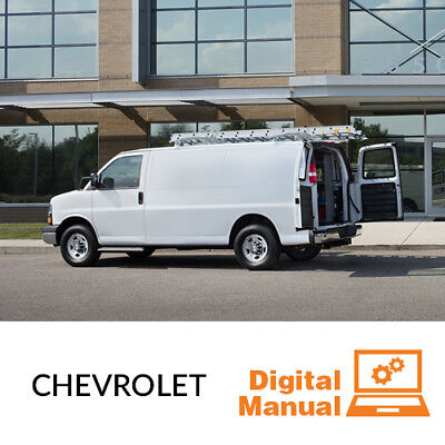 Chevrolet Van   Service And Repair Manual 30 Day Online Access
