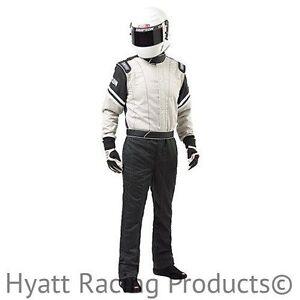 Simpson Legend II Auto Racing Fire Suit SFI-1 (Large / Gray)