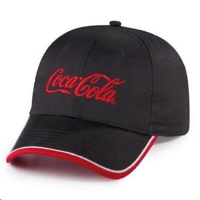 COCA COLA COKE BLACK RED LOGO  HAT  NEW!!!