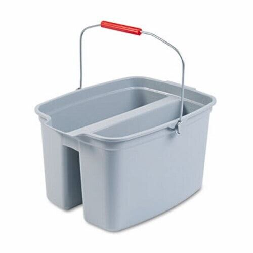 Rubbermaid 2628-88 Double 19 Quart Pail, Gray (RCP 2628-88 GRA)