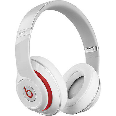New Beats by Dr. Dre Studio Wireless White Bluetooth Over-Ear Headphone